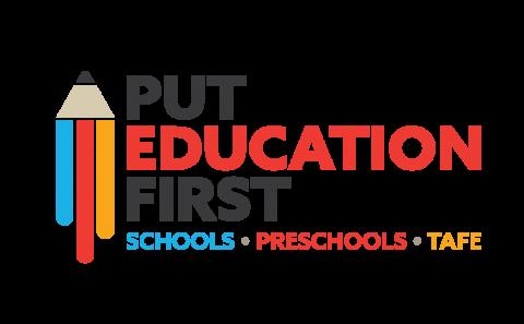 Put Education 1st logo