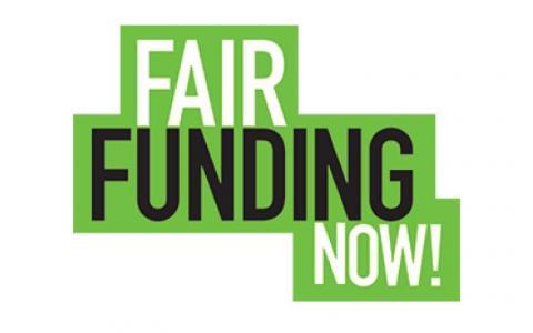 Fair Funding Now logo